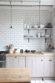 Faux Brick Kitchen Backsplash by Stick On Tiles For Your Backsplash Perfect For Our