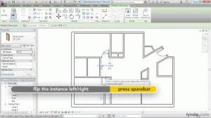 How To Read Floor Plans Symbols Revit Architecture How To Add Doors And Windows Lynda Com