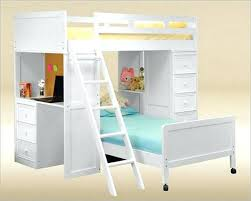 used bunk bed with desk bunk bed with stairs bunk bed stairs slide podemosmataro info