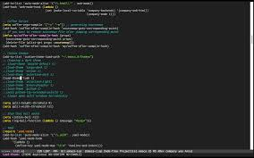Coffeescript Map Gotham Theme With 256 Colors Emacs Stack Exchange