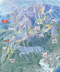 Colorado Ski Map by Heavenly Lake Tahoe Ski Trail Map Free Download
