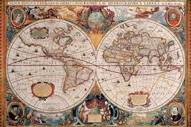 Old Map Of Seattle by Historical Map Of The World Geographica 1630