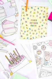 diy coloring book pages printable coloring pages