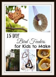 easy diy bird feeders for kids seeing dandy