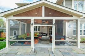 craftsman style porch craftsman style screened porch with custom flagstone sitting wall