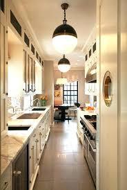 galley kitchen light fixtures best lighting for galley kitchen galley kitchen lighting ideas