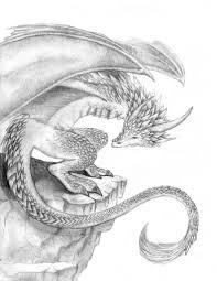 dragon drawing pencil draw dragon head pencil