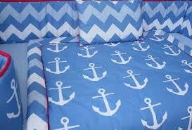 Zig Zag Crib Bedding Set Babyfad Anchor Zigzag 10 Piece Crib Bedding Set U0026 Reviews Wayfair