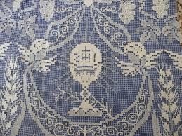 imagenes religiosas a crochet calice ostia crochet religioso pinterest catholic crafts