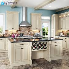 all maple wood rta 10x10 kitchen cabinets in new cream white