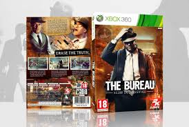 the bureau xbox 360 the bureau xcom declassified xbox 360 box cover by fergana16