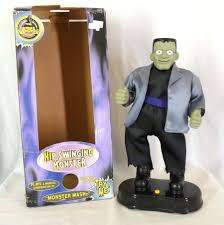 Halloween Monster Mash by Image Hip Swinging Monster Mash Frankenstein Halloween Figure