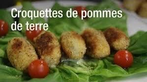 recette cuisine az recette croquettes de pommes de terre faciles