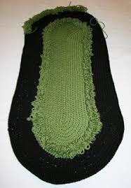 made by cynthia rae racetrack rug crochet pattern
