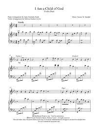 i am a child of god by judy checketts hatch violin duet violin