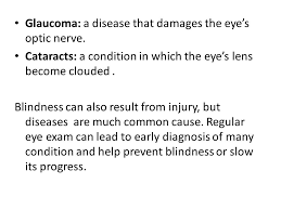 Can Cataracts Lead To Blindness Physical And Mental Challenges Physical Challenges Objective