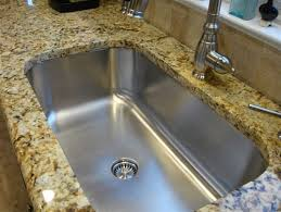 Single Kitchen Sinks by Stainless Steel Undermount Kitchen Sink Single Bowl Rounded