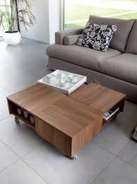 Coffee Tables With Wheels Roy Coffee Table With Wheels