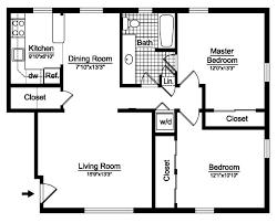 2 bedroom 2 bath floor plans beautiful popular 2 bedroom 1 bath floor plans for kitchen