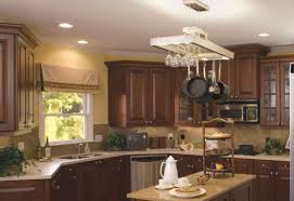 recessed lighting in kitchens ideas kitchen inspiring kitchen design ideas with brown wood