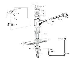 replacing single handle kitchen faucet kitchen faucet leaking bloomingcactus me