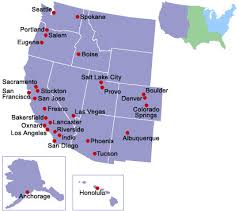 map us las vegas western u s cities mobility information