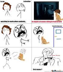 Stupid Cat Meme - stupid cat by blablabla96 meme center