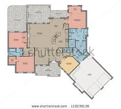 Bungalow Round Floor Plan Interior by Tips Home Design Bungalow Round Floor Plan