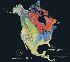 Topographic Map Of The United States by Geologic Map Wikipedia