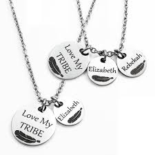 s necklace with names jewelry necklaces my tribe name s necklace