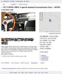 for 8 500 this 1971 bmw 2002 brings some neue klasse