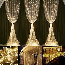 curtain decoration lights 306 led waterproof safe low