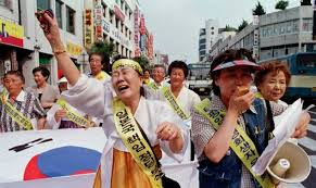Comfort Women Japan Japan Lawmaker Says U0027comfort Women U0027 Were U0027prostitutes U0027 Daily