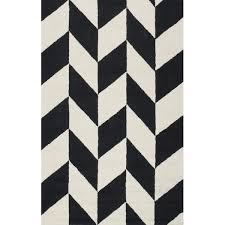Black White Area Rug Tufted Black White Indoor Area Rug