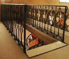 Banister Stair Iron Gothic Style Banister Stairs And Banisters
