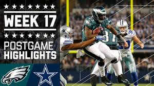 eagles vs cowboys week 17 2013 highlights battle for