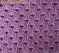 pattern of crochet stitches crochet patterns free half circle