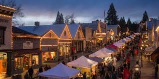 california towns with holiday spirit visit california