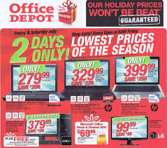 black friday office depot office depot black friday 2010 ad opening time and best deals on