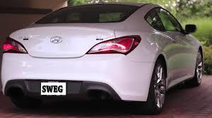 Hyundai Genesis Coupe Specs Genesis Coupe Muffler Delete 3 8 R Spec Youtube