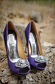 Wedding Shoes Purple Purple Themed Wedding Day Stay At Home Mum