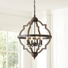 French Wire Chandelier Farmhouse Or Country Chandelier You U0027ll Love