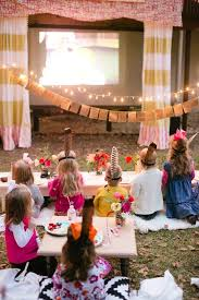 Backyard Parties Best 25 Outdoor Movie Birthday Ideas On Pinterest Outdoor Movie