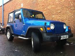 1980s jeep wrangler for sale 2004 jeep wrangler 4 0l tr2 sold on car and uk c297424
