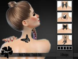 Challenge Neck 7 Best Sims 4 Cc For Black Widow Challenge Make Your Sim A