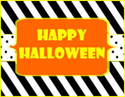 happy halloween free clip art free printable help yourself halloween sign halloween signs