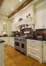 kitchen rustic backsplash ideas for kitchen with thin brick