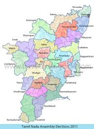 tamil nadu map tamil nadu constituency maps and results