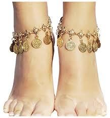 ankle bracelet jewelry images Vintage coin ankle bracelet tassel gypsy festival jpg