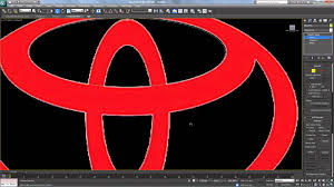 toyota logo toyota logo using splines with 3ds max 2012 mp4 tutorial hd